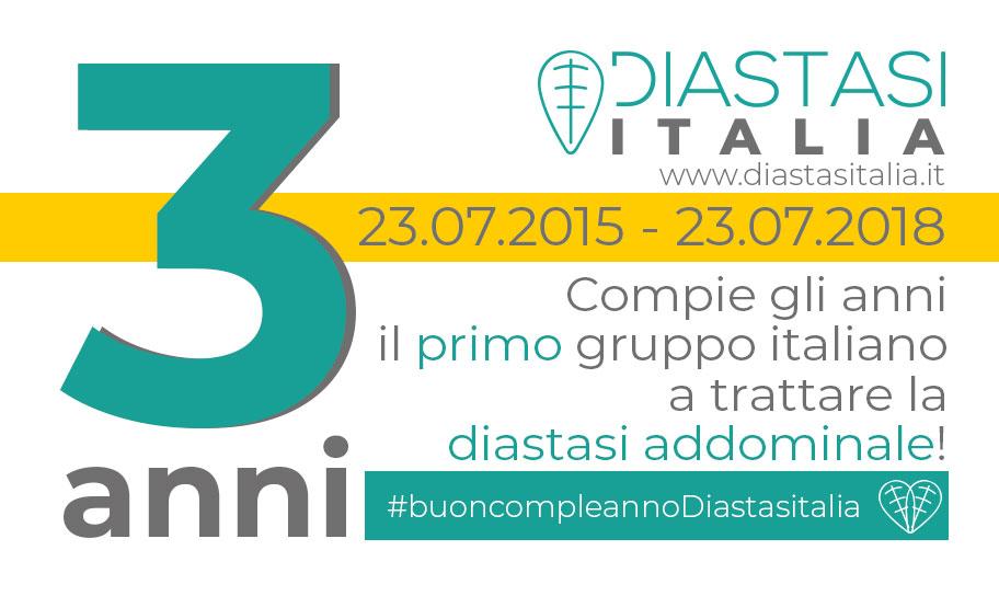 Buon compleanno Diastasi Italia